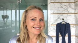 Malin Akerman's Morning Routine