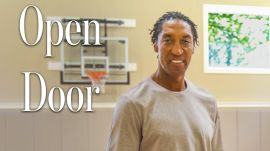 Inside Scottie Pippen's Chicago Mansion With An Indoor Court