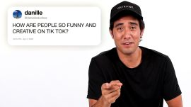 Zach King Answers TikTok Questions From Twitter