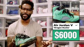 Nate Burleson Shows Off His Rarest Air Jordan Sneakers & More