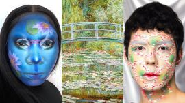 3 Makeup Artists Turn Themselves Into A Monet Painting