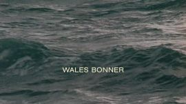 Watch the Wales Bonner Spring 2021 Mens Video