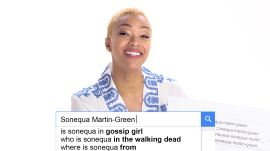 Sonequa Martin-Green Answers the Web's Most Searched Questions