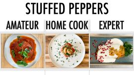 4 Levels of Stuffed Peppers: Amateur to Food Scientist