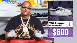 YG Shows Off His Insane Converse Sneaker Collection & More