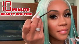 Saweetie's 10 Minute Touch Up Beauty Routine