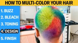 How to Multi-Color Your Hair (5 Step Tutorial)