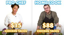 $88 vs $15 Tacos: Pro Chef & Home Cook Swap Ingredients