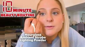 Meghan Trainor's 10 Minute Beauty Routine for Zoom Meetings