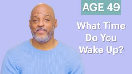 70 Men Ages 5-75: What Time Do You Wake Up?