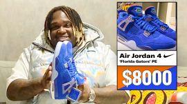 Sech Shows Off His Air Jordan Sneaker Collection