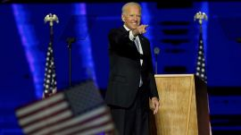 Biden Calls for Unity in His First Speech as President-Elect