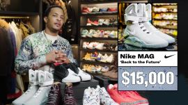 T.I. Shows Off His Sneaker Collection