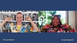 Lizzo and Jeremy Scott Discuss the Transformative Power of Style at Vogue's Forces of Fashion Summit