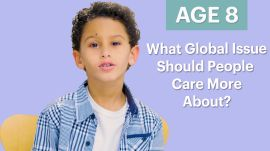 70 Men Ages 5-75: What Global Issue Should People Care About More?