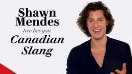 Shawn Mendes Teaches You Canadian Slang