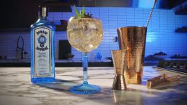 Bombay Peppermint G&T