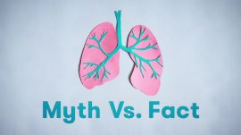 Lung Cancer: Myth Vs. Fact