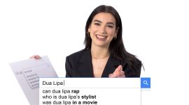 Dua Lipa Answers the Web's Most Searched Questions