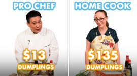 $135 vs $13 Dumplings: Pro Chef & Home Cook Swap Ingredients
