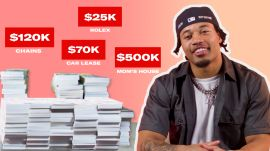 How Marshon Lattimore Spent His First $1M in the NFL