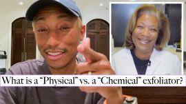 Pharrell & His Dermatologist Answer Common Skincare Questions