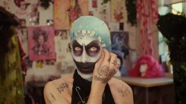 "Watch London Drag Star Charity Kase's ""Fantastical, Fabulous Disco Fish"" Transformation"