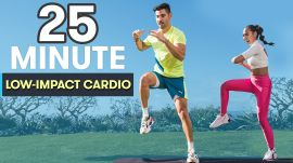 25-Minute Cardio Workout - Low-Impact, High-Intensity with No Equipment at Home