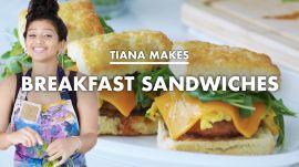 Tiana Makes the Ultimate Breakfast Sandwich
