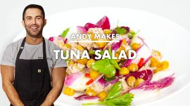 Andy Makes Tuna Salad with Crispy Chickpeas
