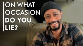 LaKeith Stanfield Answers Personality Revealing Questions | Proust Questionnaire
