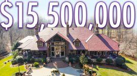 Inside A $15.5M Hidden Mansion With A Luxury Car Barn
