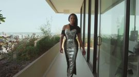 Watch How Regina King's Louis Vuitton Golden Globes Look Came Together on Good Morning Vogue