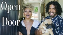 "Inside ""Hamilton"" Stars Daveed Diggs & Emmy Raver-Lampman's L.A. Home"