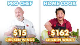 $162 vs $15 Chicken Wings: Pro Chef & Home Cook Swap Ingredients