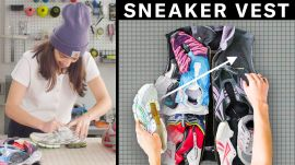 Transforming Old Sneakers into a Custom Vest (4 Step DIY)
