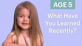 70 People Ages 5-75 Answer: What Have You Learned Recently?