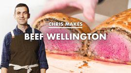 Chris Makes Beef Wellington