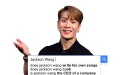 Jackson Wang Answers the Web's Most Searched Questions