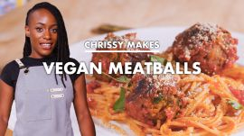 Chrissy Makes Vegan Meatballs