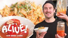 Brad Makes Fermented Pasta Sauce