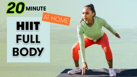 20-Minute HIIT Full-Body Workout - No Equipment at Home