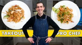 Pro Chef Tries to Make Pad Thai Faster Than Delivery