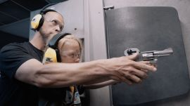 Looking at Children Shooting Guns