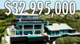 Inside A $33M Mansion With A Hidden Underground Disco
