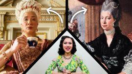 Fashion Historian Fact Checks Bridgerton's Wardrobe