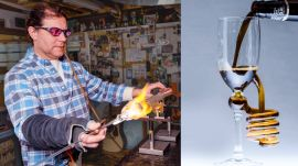 Scientific Glass Blower Makes Beer Glasses