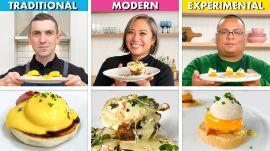 3 Chefs Cook Eggs Benedict 3 Ways: Traditional, Modern, Experimental