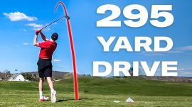 Can an Average Guy Drive A Golf Ball 295 Yards?