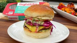 Grilling the UltimateLightlifePlant-Based Burger with ChefRōze Traore